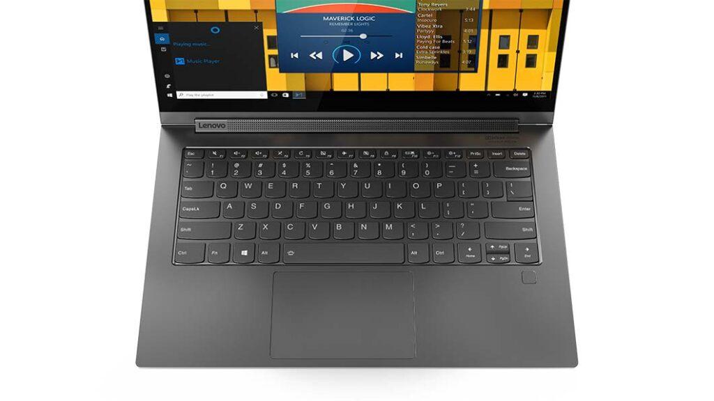 Lenovo Yoga C940 keyboard