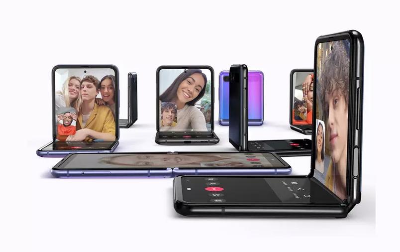 Samsung Galaxy Z flip modes
