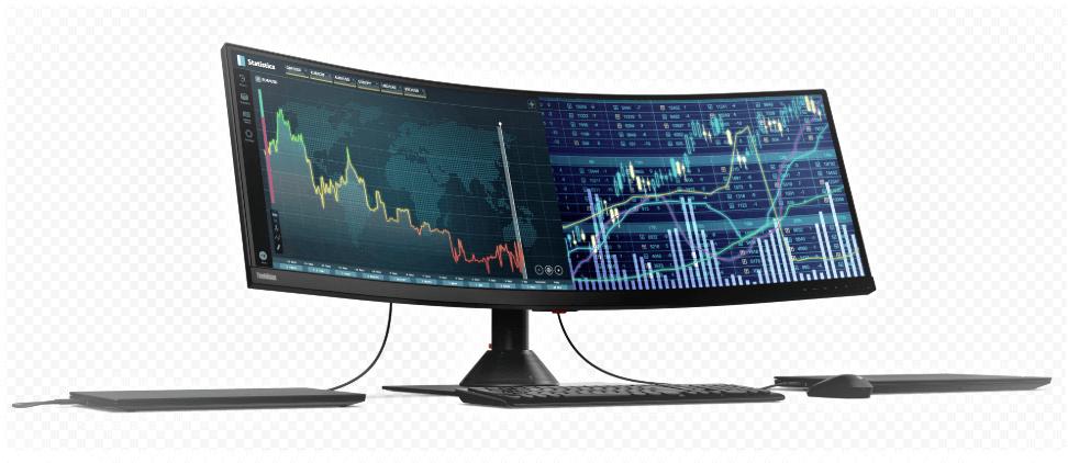 Lenovo ThinkVision P44w-10 Giant screen powerful PC