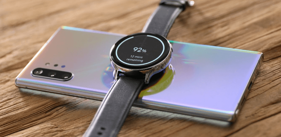 the Galaxy Watch Active 2 charger