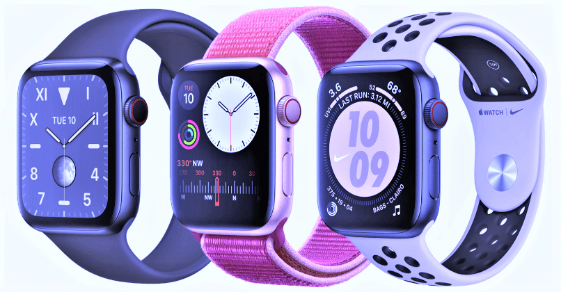 Apple Watch Series 5 a waterproof smartwatch with SIM