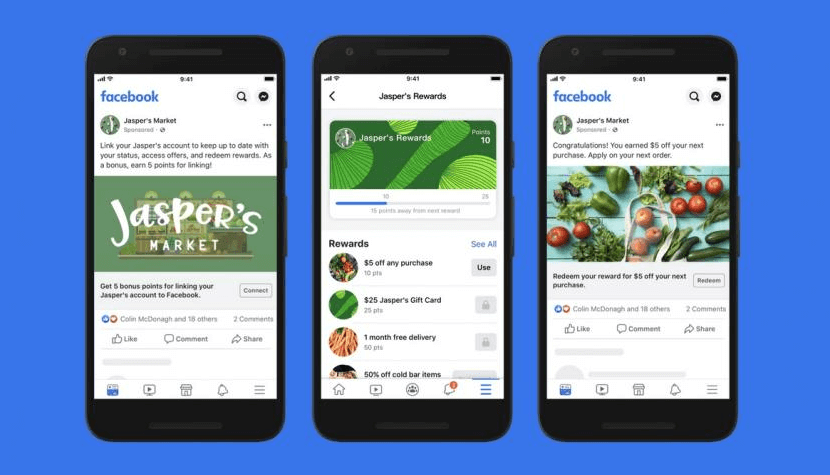 Facebook presents Shops, an online store to sell on Facebook