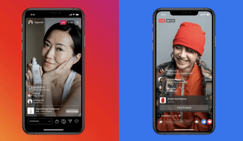 Facebook Shops, an online store to sell on Instagram and WhatsApp