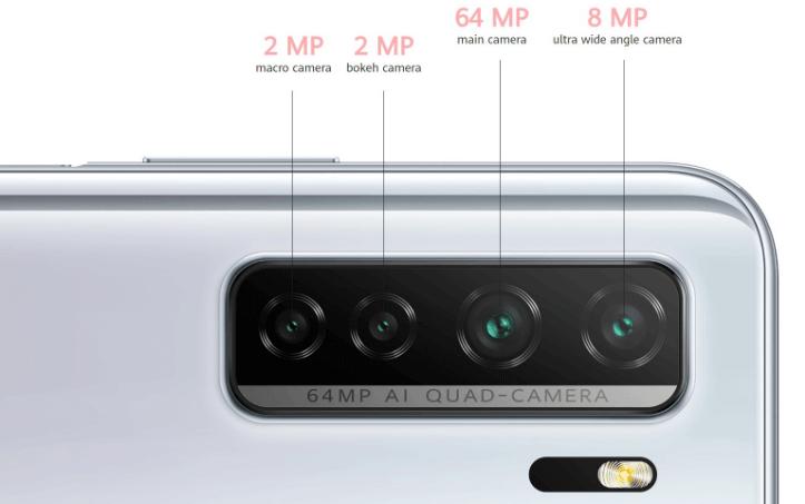 Huawei P40 Lite 5G 64-megapixels