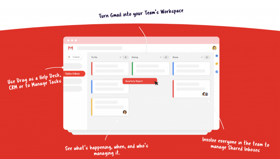 Organize your Gmail under the Kanban method with this Chrome add-on