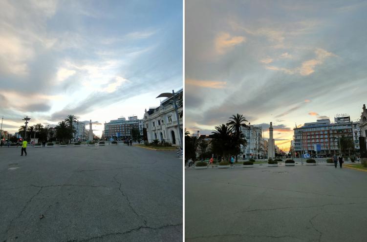 Realme X50 Pro 5G review Angular vs main sensor