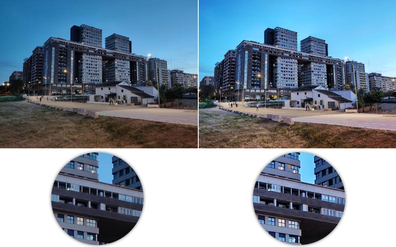 Realme X50 Pro 5G review Auto vs night mode