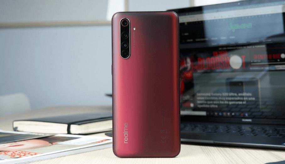 Realme X50 Pro 5G review back
