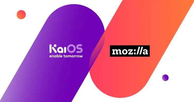 This is KaiOS, the third operating system Mozilla itself that joined forces to improve the performance
