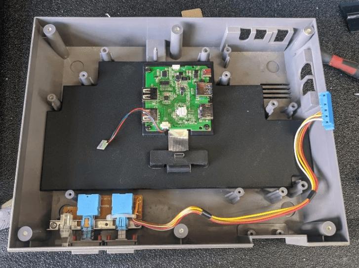 Transform the NES into a Nintendo Switch dock