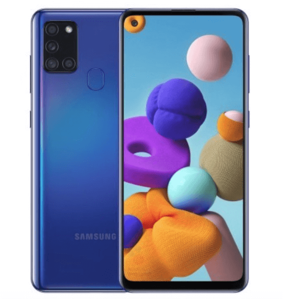 Versions and price of the Samsung Galaxy A21s