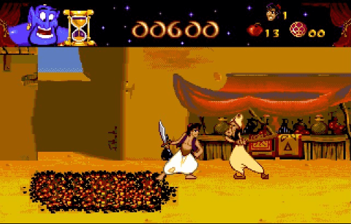 best games of the MS-DOS era - Aladdin (Virgin, 1994)