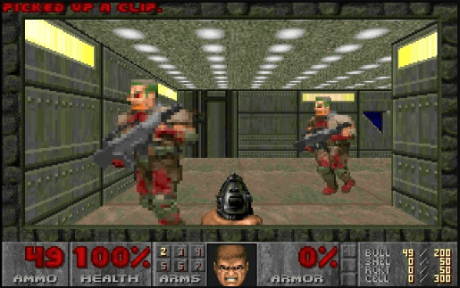 best games of the MS-DOS era - Doom II Hell on Earth (id Software, 1994)