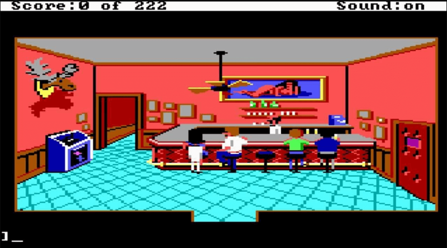 best games of the MS-DOS era - Leisure Suit Larry (Sierra On-Line, 1987)
