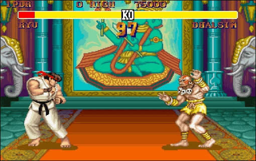 best games of the MS-DOS era - Street Fighter II (Capcom, 1992)