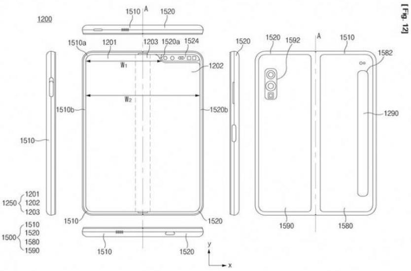 the Samsung Galaxy Fold 2 may be waterproof