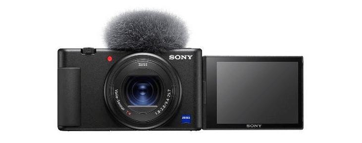 the new Vlog camera ZV-1 pocket camera for vloggers