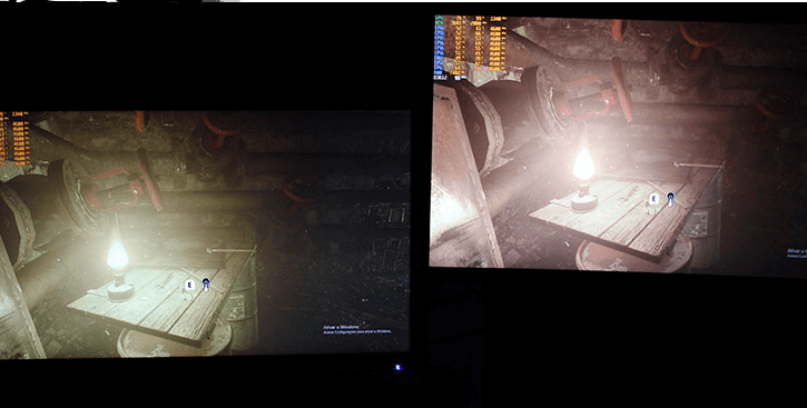 Acer KG241Q 144Hz Monitor Review - Acer KG241Q on the left - Warrior Kai on the right