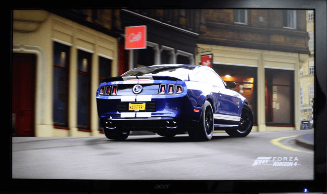 Acer KG241Q 144Hz Monitor Review - Mustang photo used in the Warrior Kai and HQ 24QHQ review