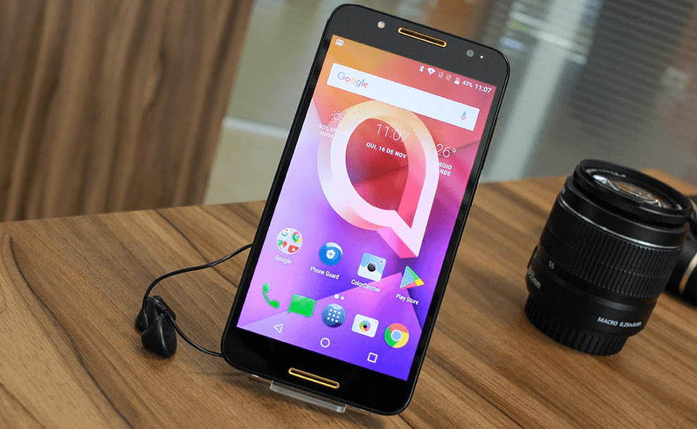 Alcatel A7 Review - images and details of the Alcatel A7 1