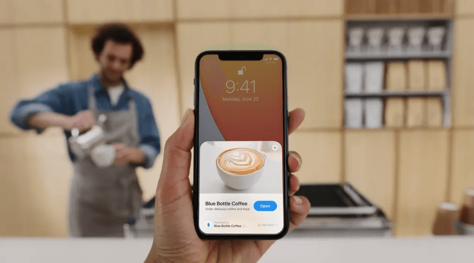 Details and new functions of the new iOS 14 - App Clips