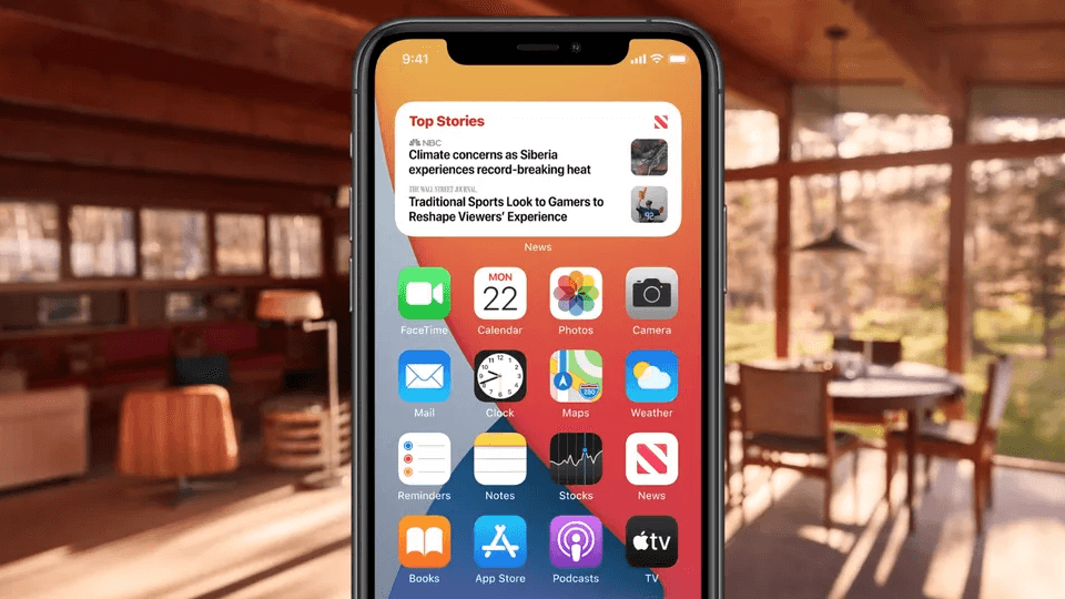 Apple launches at WWDC 2020 - Widgets are among the new features of iOS 14