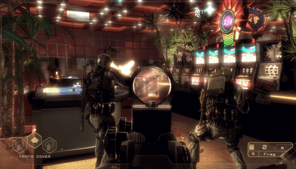 Best games with narrative - discover 7 titles based on books - Tom Clancy's Rainbow Six Vegas