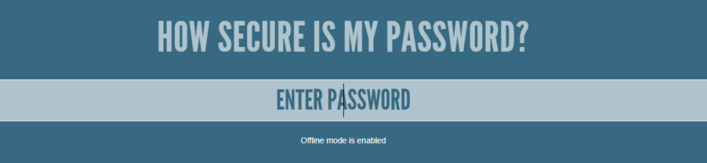 Do you use the same password for all websites and applications