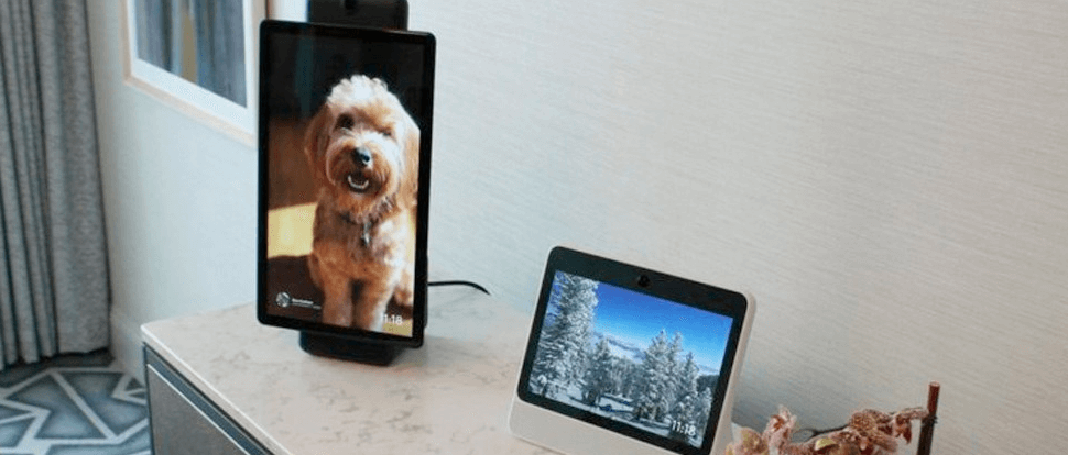 Facebook extends video calling capacity to up to 50 people on Portal devices