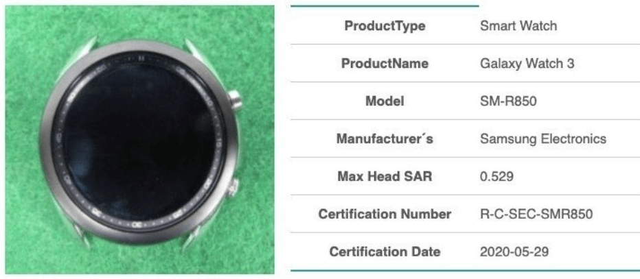 The First image of Galaxy Watch 3 confirms the return of revolving crown