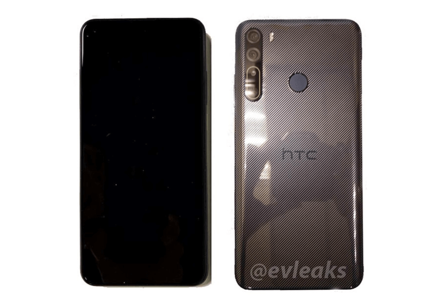 HTC Desire 20 Pro has leaked photos confirming modest design and four cameras