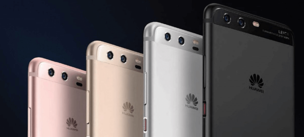 Huawei P10 mobile phone line launched in 2017 gets major update