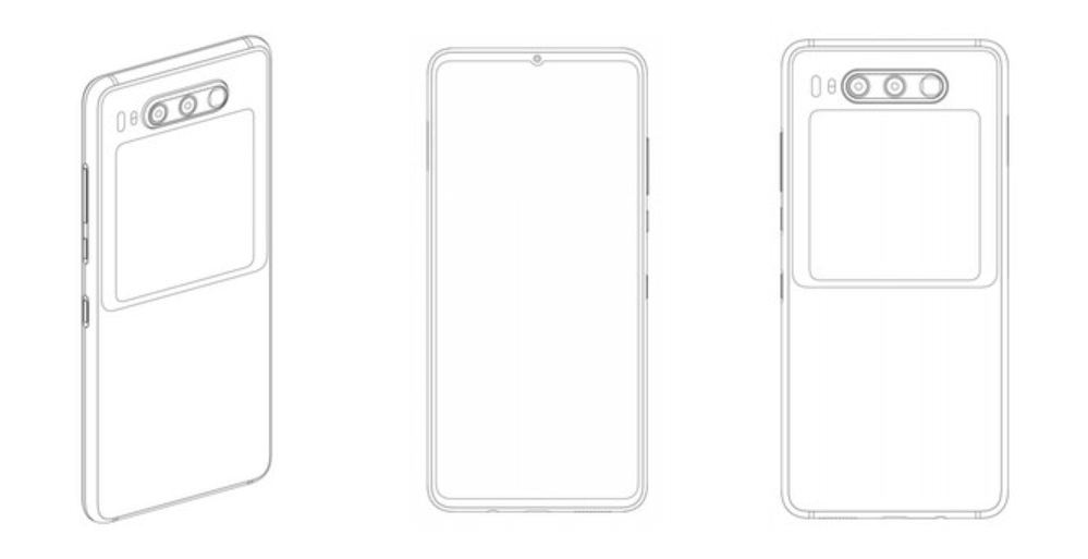 Huawei registers smartphone patent with a screen on the back cover and periscope lens