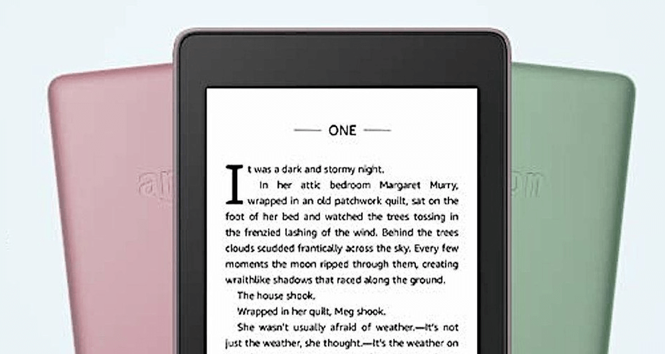 Kindle Paperwhite gets two new versions in different colors