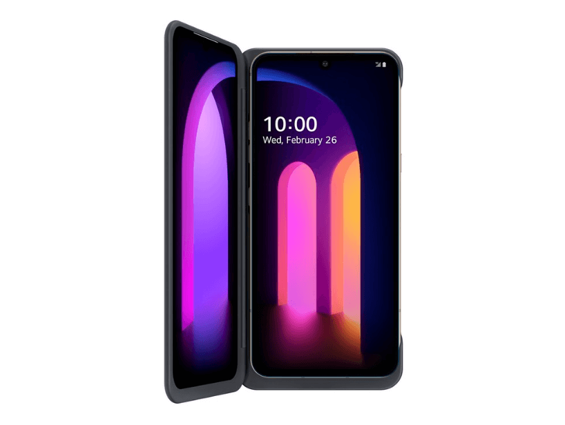 LG Dual Screen uses mmWave technology to connect to the company's smartphones