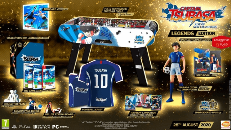 Captain Tsubasa Limited special edition of the game Captain Tsubasa Rise of New Champions