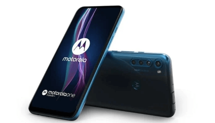Motorola One Fusion plus has a retractable camera and 5000 mAh battery