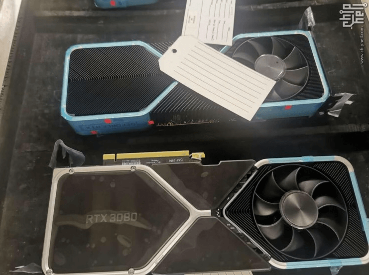 Nvidia RTX 3080 prototype is photographed and reveals new cooling system