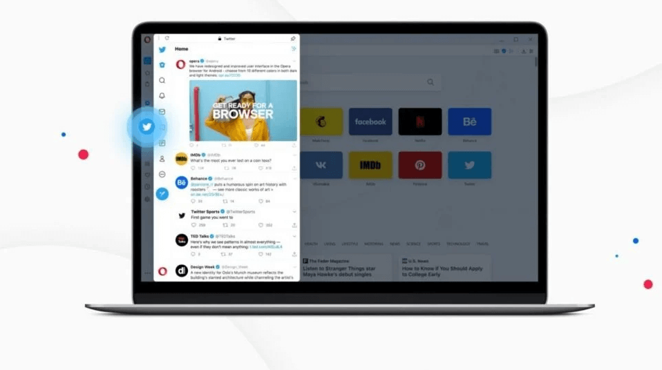 Opera Now Offers Twitter Integration