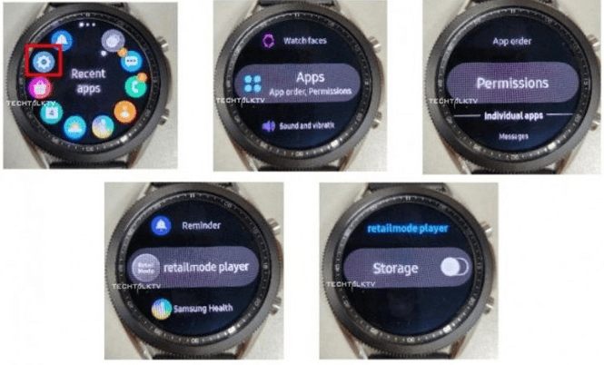 Samsung Galaxy Watch 3 appears linked in new leaked images