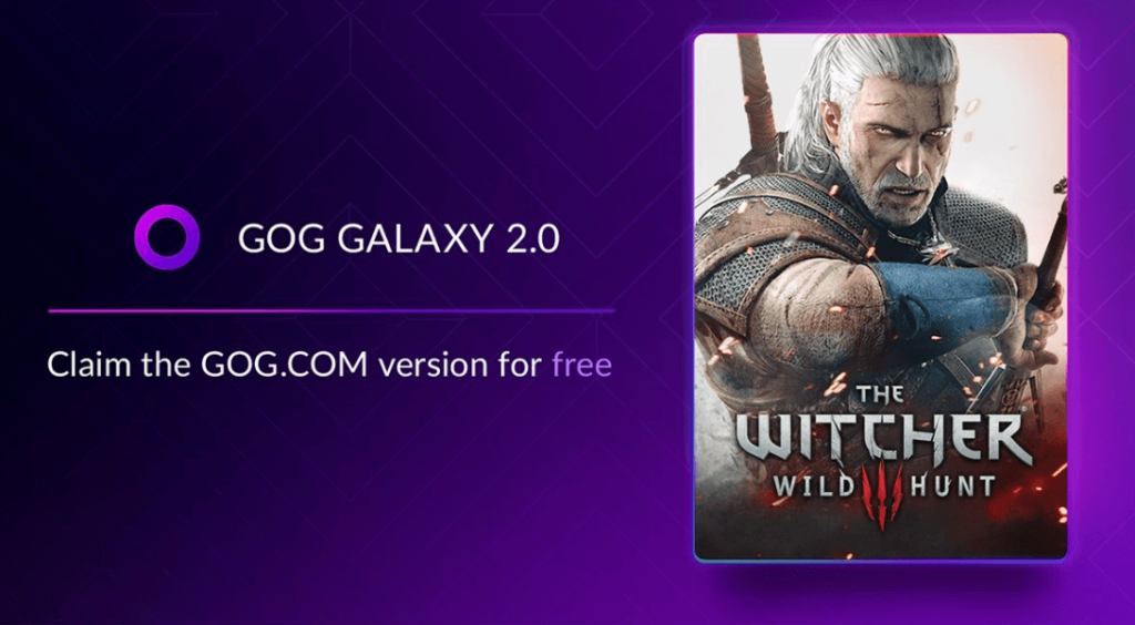 The Witcher 3 Wild Hunt is free on GOG.COM for those who have the game on other platforms