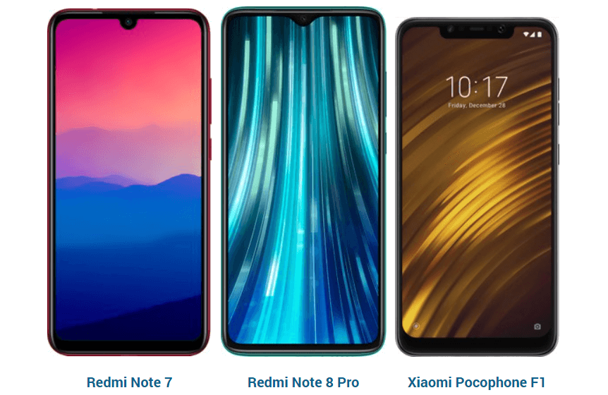 Xiaomi recruits owners of Redmi Note 7, Note 8 Pro and Pocophone F1 to test the new MIUI 12 Global Stable