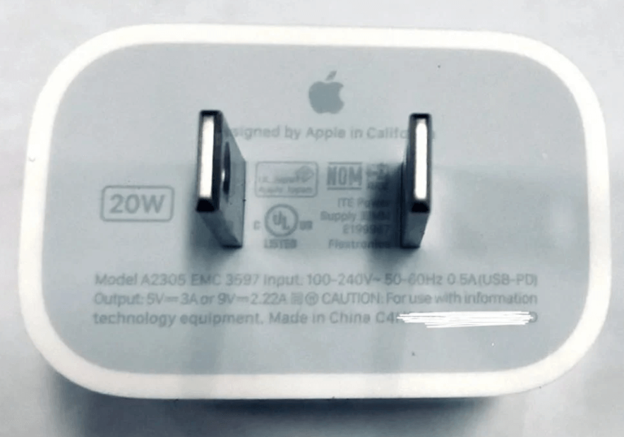 iPhone 12 May Come With 20W USB-C Fast Charger