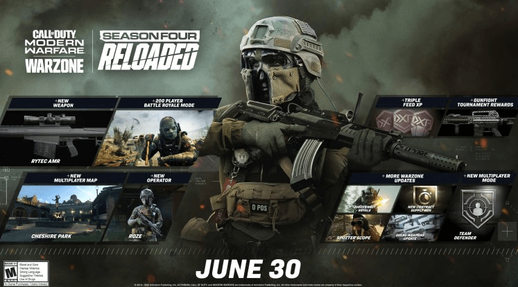 Call of Duty Warzone update expands player limit to 200