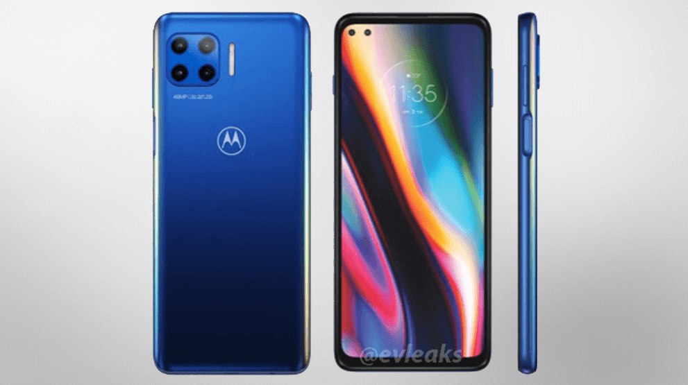 Moto G with 5G support appears in rendering
