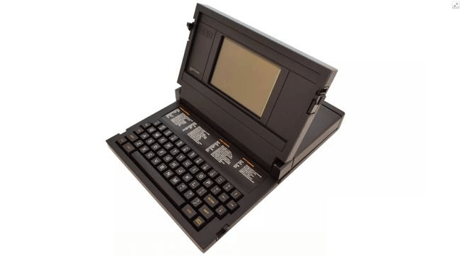 Unforgettable Laptop Models That Left Their Mark in History - Grid Compass 1101, The First Covered Laptop