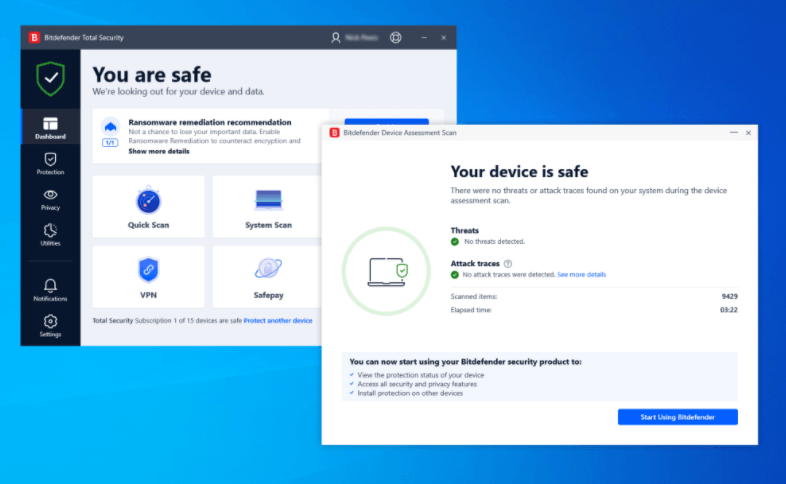 The best free antivirus for Windows in 2021 - Bitdefender