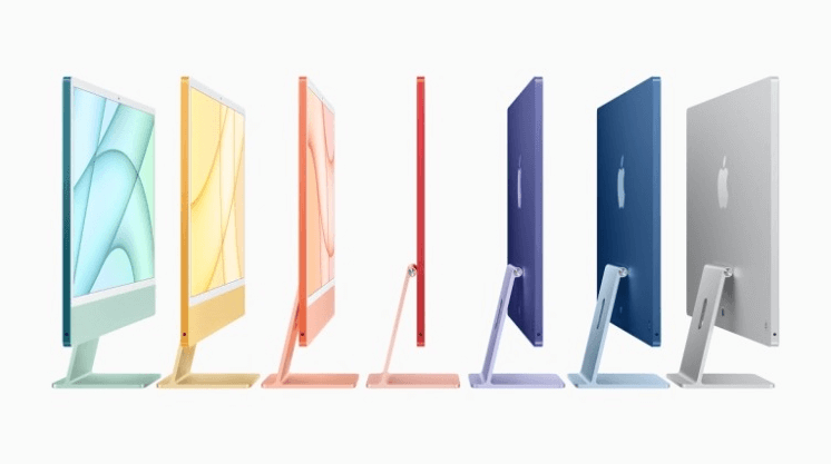 What changes in the new iMac 2021- The iMac 2021 comes in a series of 7 color options