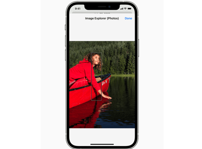 Apple announces that iOS 15 will have new accessibility controls - Exemplification of VoiceOver