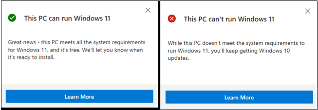 Minimum requirements to run Windows 11 on your computer - Windows 11 compatibility check with your PC